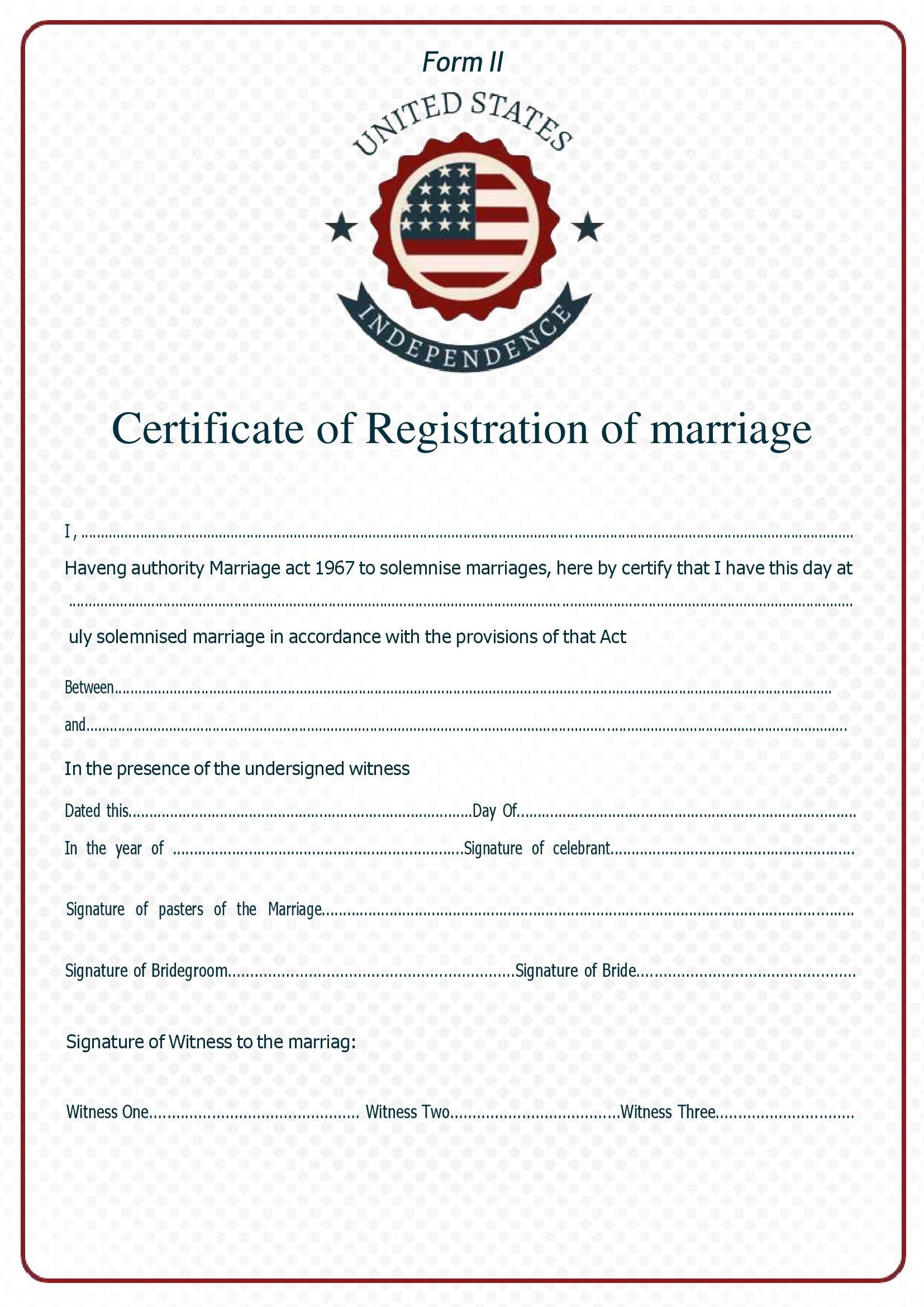 Certidão De Casamento No Word 2021