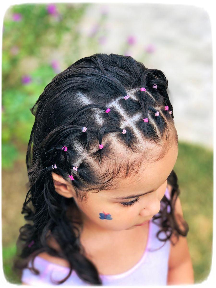 Penteados Com Liguinhas Para Cabelos Cacheados